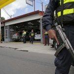 Escena de un crimen en Costa Rica