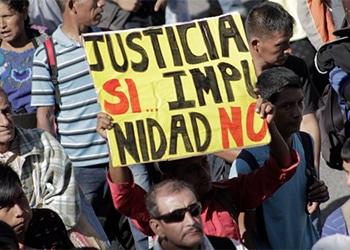 Los manifestantes inundaron las calles de Guatemala durante una huelga nacional