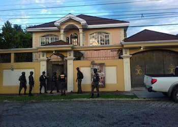 Una de las propiedades vinculadas a los Cachiros que fueron aseguradas por las autoridades hondureñas