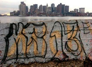 Grafiti de la MS13