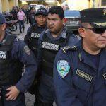 Honduras National Police officers