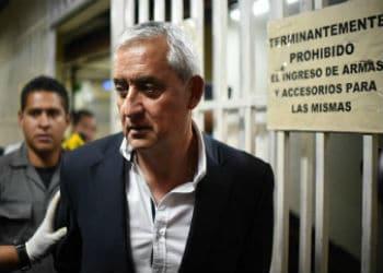 Presidente de Guatemala en prisión Otto Pérez