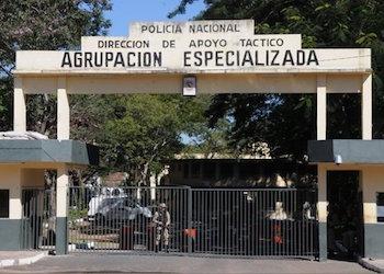 Instalaciones de la Agrupación Especializada de la Policía donde se encuentra detenido Jarvis Chimenes Pavão