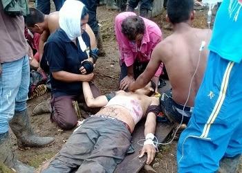 Víctima del tiroteo durante la protesta