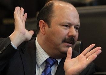 El exgobernador de Chihuahua César Duarte Jáquez está acusado de tener nexos con el crimen organizado
