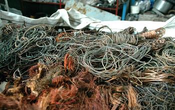 Las autoridades venezolanas se incautaron de más de 7 toneladas de cobre