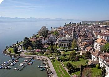 Morges, la ciudad suiza a donde Enrique Rais ha huido