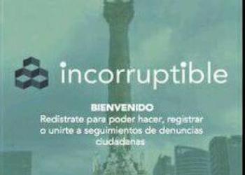 La app Incorruptible permite que los ciudadanos denuncien actos de corrupción