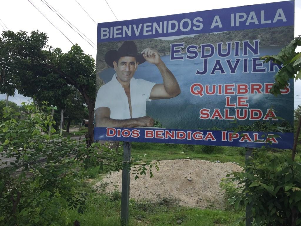 Entrada a Ipala, Chiquimula (Fuente: Steven Dudley)
