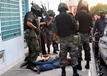 El sistema de justicia civil tiene un índice de resoluciones de 3,2 por ciento contra miembros de la milicia