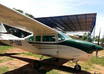 Aviones pequeños como estos son utilizados para el tráfico aéreo de drogas en Paraguay