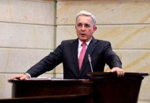 Álvaro Uribe in the Colombian Senate