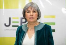 Patricia Linares, presidenta de la Jurisdicción Especial para la Paz (JEP) en Colombia