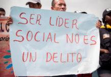 La sociedad civil ha convocado a varias movilizaciones en rechazo a los asesinatos de líderes sociales