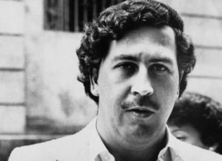 Pablo Escobar, antiguo capo del Cartel de Medellín