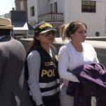 Cinthia Carolina Tello Preciado, acusada de liderar una organización criminal en Perú