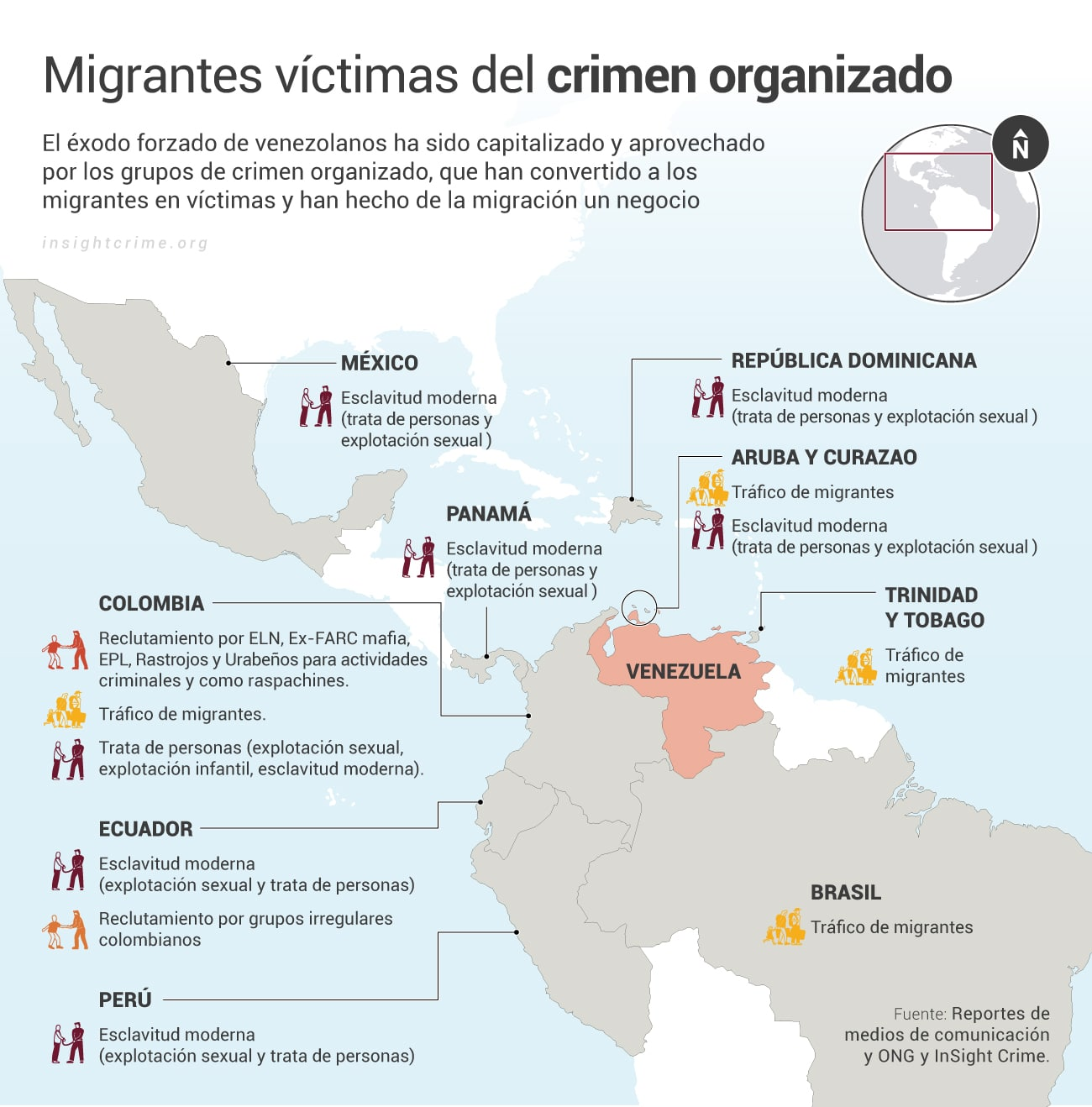 Migrantes-victimas-del-crimen-organizado_InSight-Crime_Map