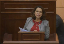 Nancy Patricia Gutiérrez, ministra del Interior de Colombia