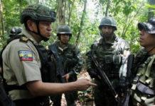 Ecuador ha estado tratando de evitar la operación de grupos criminales colombianos en la frontera