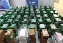 En un puerto de Colón, Panamá, se descubrieron cerca de 800 paquetes de cocaína un cargamento