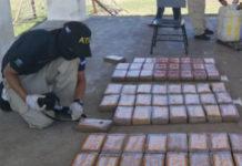 Autoridades en Honduras aseguran la incautación de 110 kilos de presunta cocaína