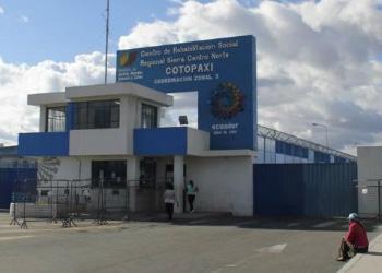 Centro de Rehabilitación Social Regional de Latacunga, al sur de Quito, Ecuador