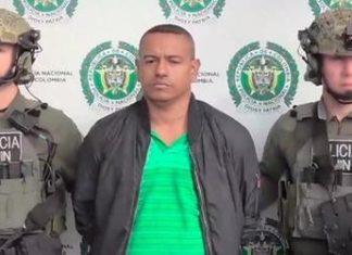 El narcotraficante, alias, Olindillo, fue capturado en mayo de 2019 después de intentar hacerse pasar por un ex guerrillero de las FARC dentro del proceso de paz de Colombia