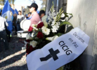 El mandato de una comisión internacional para luchar contra la corrupción en Guatemala ha llegado a su fin