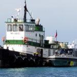 Frente a la costa de Aruba se halló un remolcador con 2,2 toneladas de cocaína a bordo