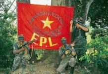 Con el agravamiento de las divisiones internas en el grupo, es posible que la bandera del EPL deje de ondear pronto